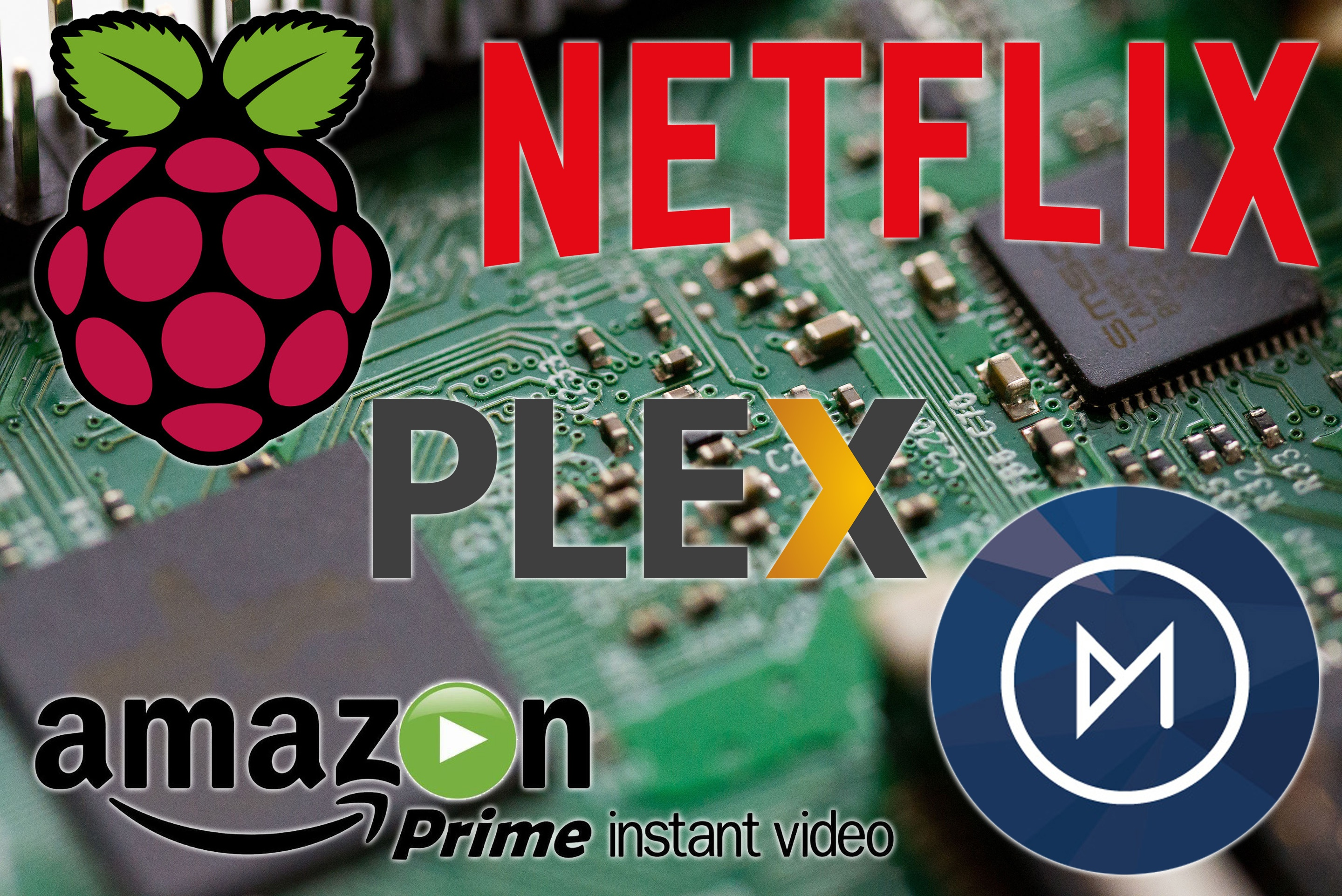 Install Netflix Amazon Prime Video and Plex on the Raspberry